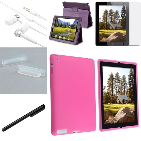 BasAcc Cases/ Screen Protector/ Plug/ Headset for Apple® iPad 3/ 4