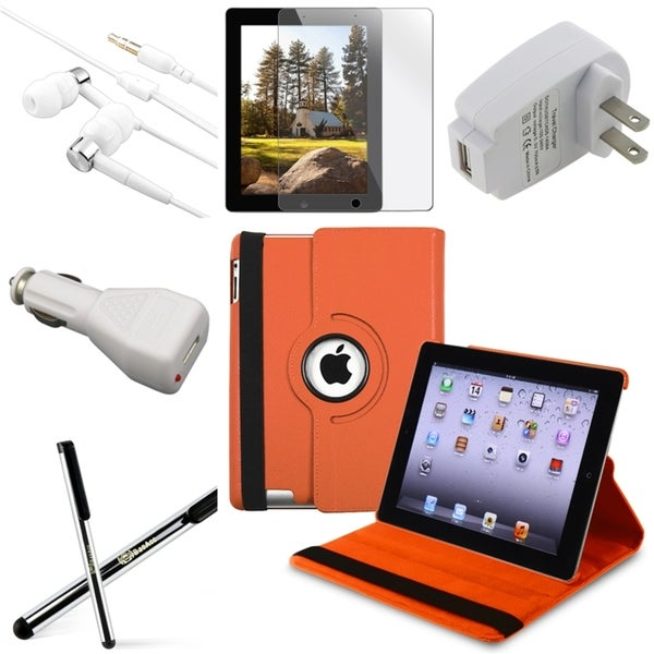BasAcc Case/ Screen Protector/ Chargers/ Headset for Apple® iPad 3