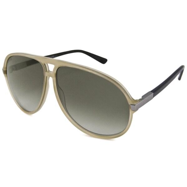 Gucci Men's GG1646 Aviator Sunglasses