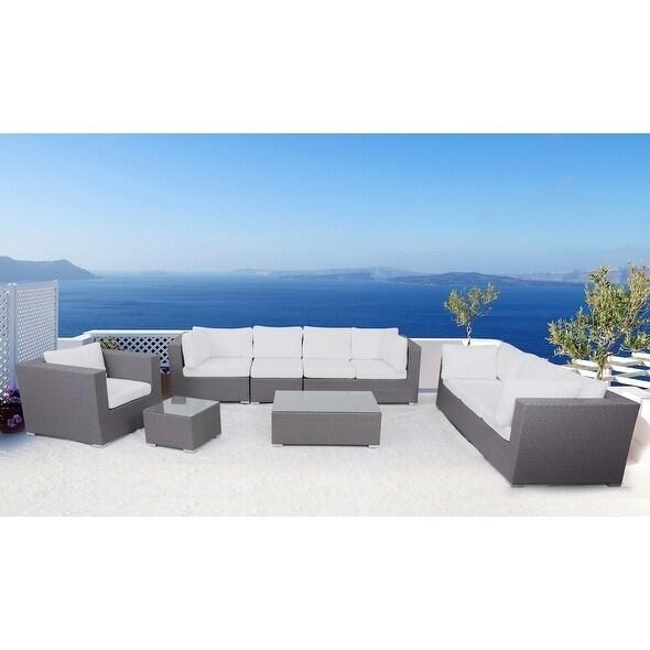 Modern Outdoor Furniture Maxima Wicker Lounge Set - Shop Modern Outdoor Furniture Maxima Wicker Lounge Set - On Sale