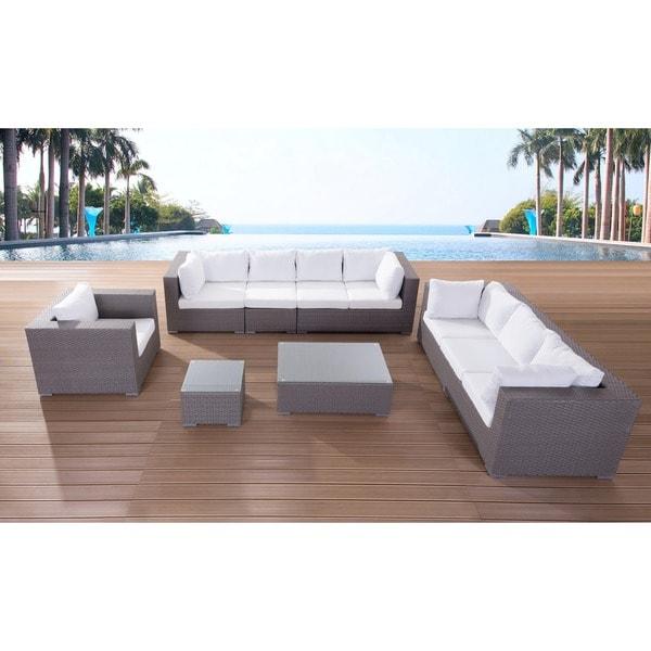 modern outdoor furniture maxima wicker lounge set
