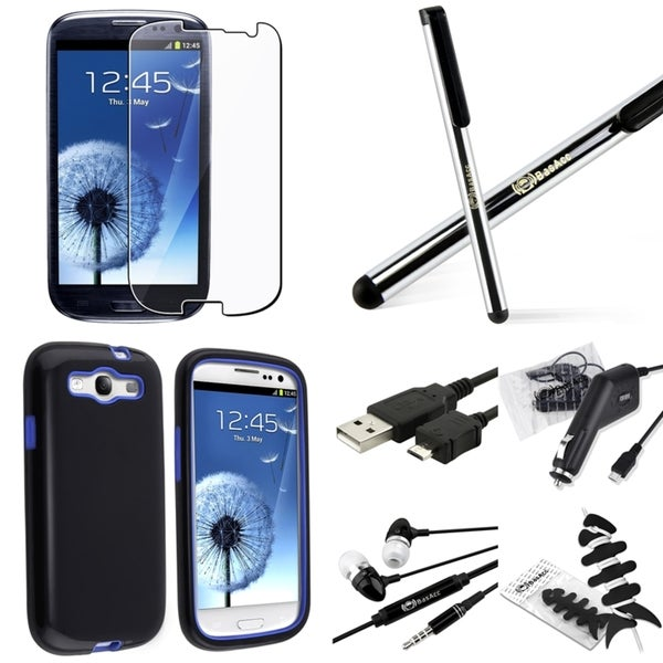 BasAcc Case/ Screen Protector/ Chargers/ Wrap for Samsung© Galaxy S3