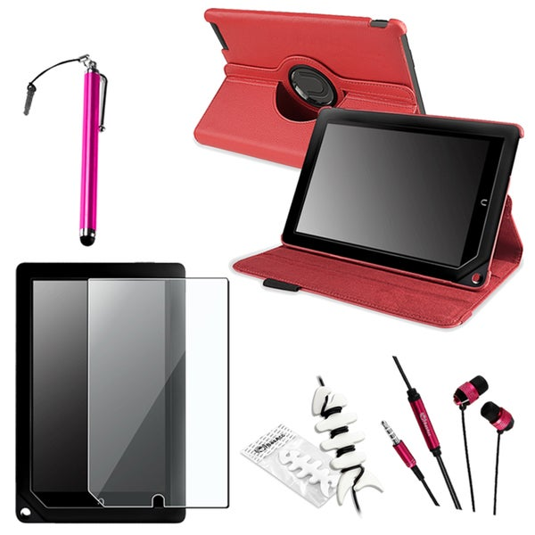 BasAcc Case/ Protector/ Headset/ Stylus for Barnes & Noble Nook HD+