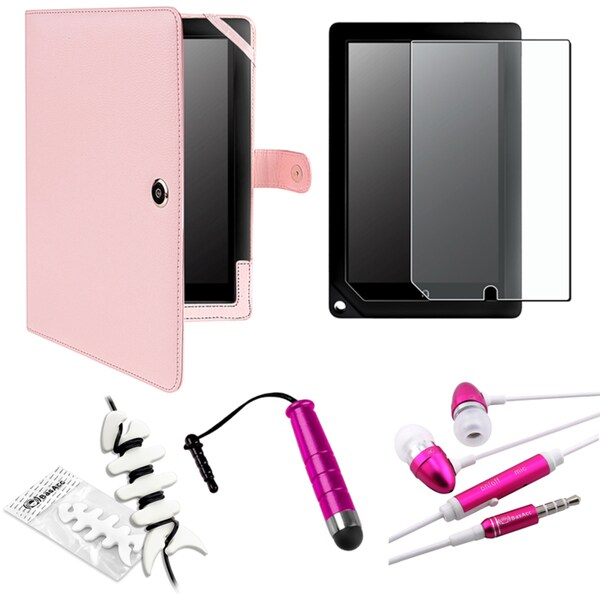 BasAcc Case/ Protector/ Stylus/ Headset for Barnes & Noble Nook HD+