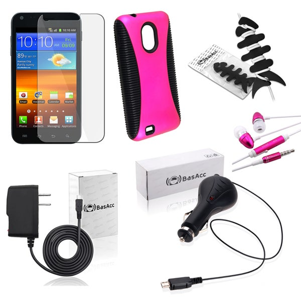 BasAcc Case/ Wrap/ Headset/ Charger for Samsung Epic 4G Touch D710