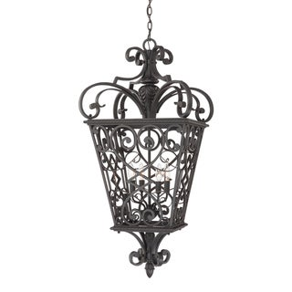 Quoizel Fort Quinn Extra Large Four-Light Hanging Lantern
