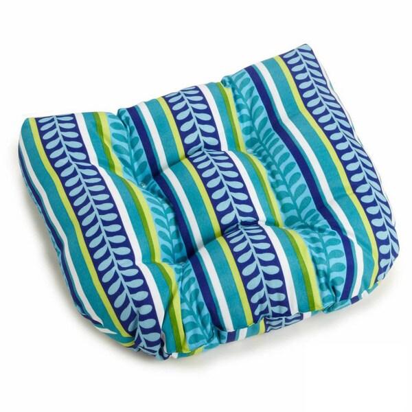 Shop Blazing Needles 20 Inch U Shaped Indoor Outdoor Chair Cushion