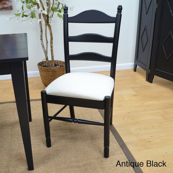 Gwen Upholstered Ladder Back Chair