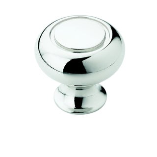 Amerock Traditional 1.25-Inch Polished Chrome Cabinet Knob (Pack of 5)