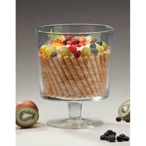 """Luna Trifle Bowl / Ftd Centerpiece 9"""""""