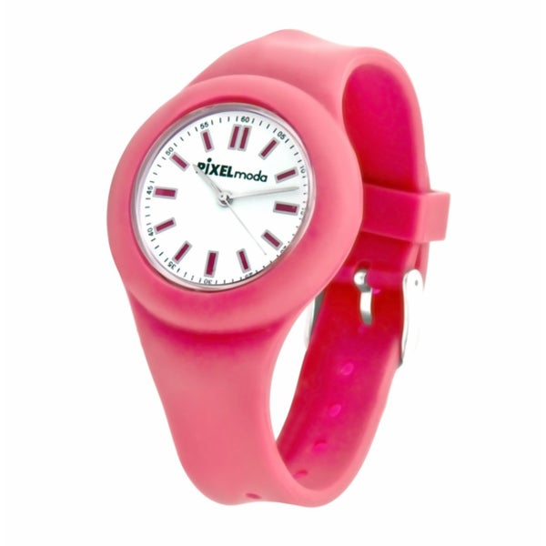 Pixelmoda Kids' 'Zero' Silicone Watch