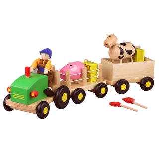 Discoveroo Wooden Farm Set