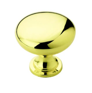 Amerock Traditional 1.25-Inch Polished Brass Cabinet Knob (Pack of 5)