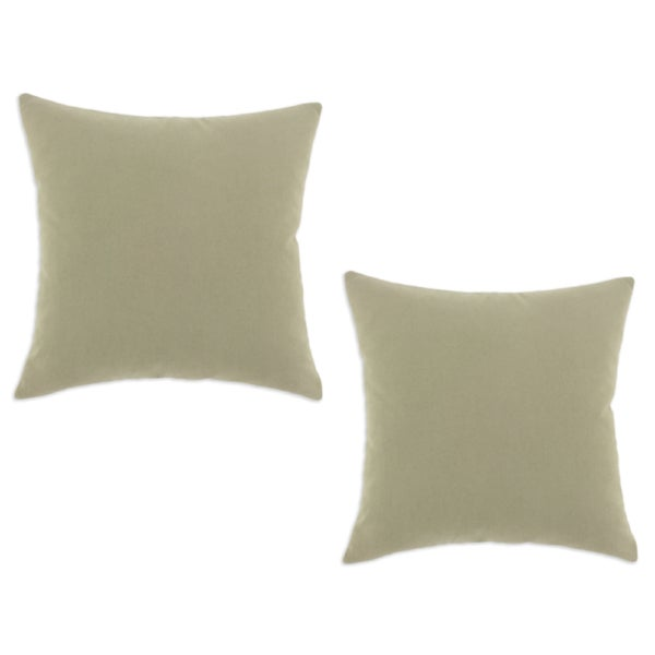 Stoney River Grey 19 x 19-inch Accent Throw Pillows (Set of 2)