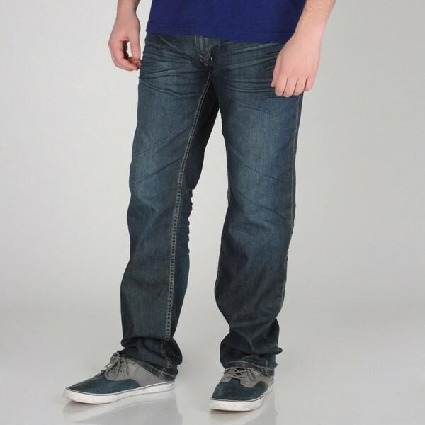 X-Ray Jeans Men's Medium Blue Denim Jeans