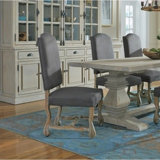 Casper Upholstered Grey Dining Chair By Kosas Home