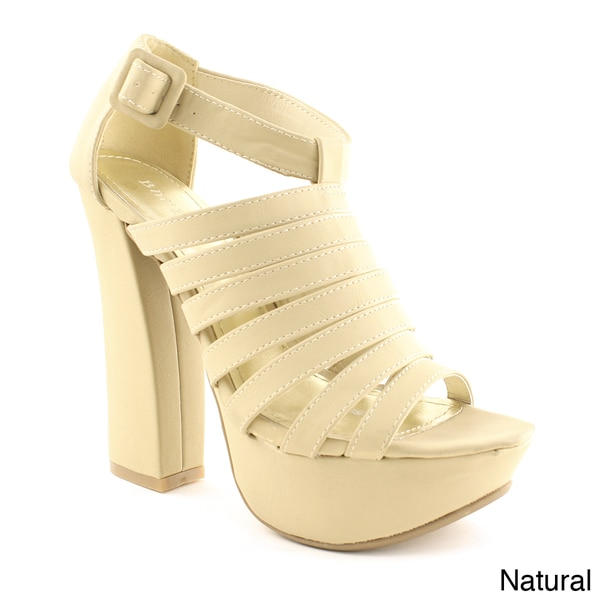 J. P. Original Women's 'Nanette-10' Platform Sandals