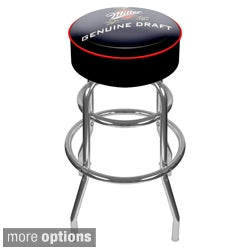 Miller Logo Padded Bar Stool