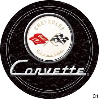 Officially Licensed GM Corvette Padded Bar Stool