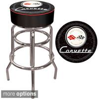 Officially Licensed GM Corvette Padded Bar Stool