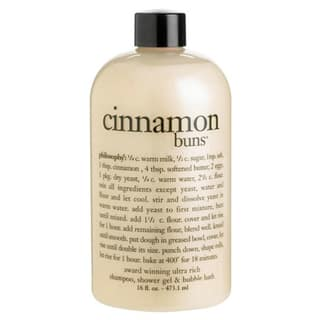 Philosophy Cinnamon Buns 16-ounce Shower Gel|https://ak1.ostkcdn.com/images/products/7719400/P15123014.jpg?impolicy=medium