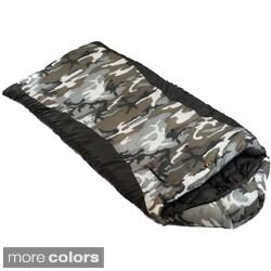 Ledge Sports Gunny Sack 0-degree F Youth Rectangular Mummy Hood Sleeping Bag