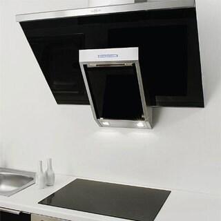 NT AIR Stainless Steel Black Glass 24-inch Range Hood