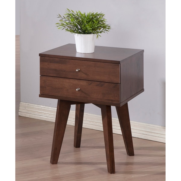 Sale alerts for  Jones Wenge 2-drawer Nightstand - Covvet