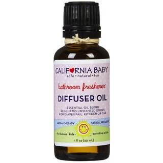 California Baby Bathroom Freshener 1-ounce Diffuser Oil