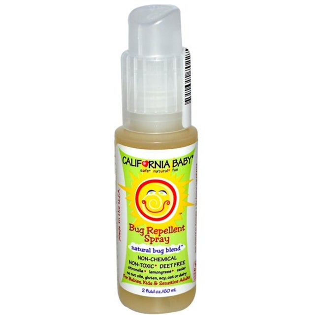 California Baby Natural Bug Blend Bug 2-ounce Repellent S...