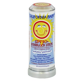 California Baby Everyday/ Year-round SPF 30+ 0.5-ounce Sunscreen Stick
