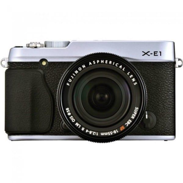 Fujifilm X-E1 16.3 Megapixel Mirrorless Camera (Body with Lens Kit) -