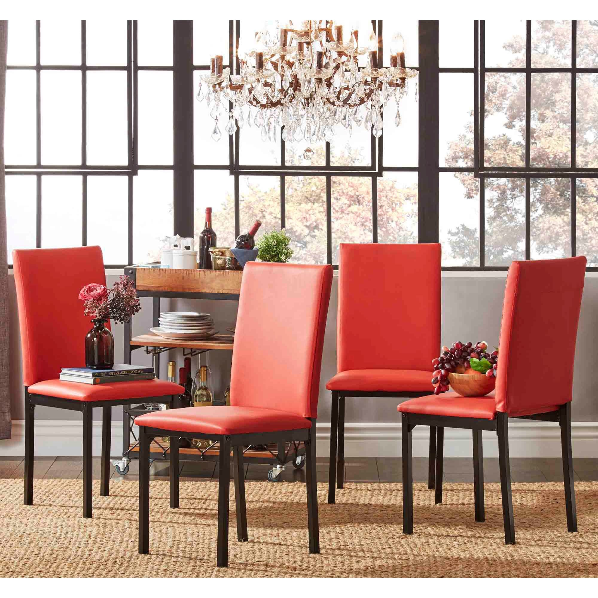Red Kitchen Dining Room Chairs Online At Our Best Bar Furniture Deals