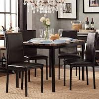 Buy Black Kitchen Dining Room Sets Online At Overstock Our Best Bar Furniture Deals