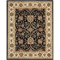 Safavieh Traditional Handmade Kerman Rust/ Gold Wool Rug (8'3 x 11')