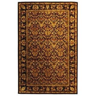 Safavieh Handmade Treasured Dark Plum Wool Rug (4' x 6')