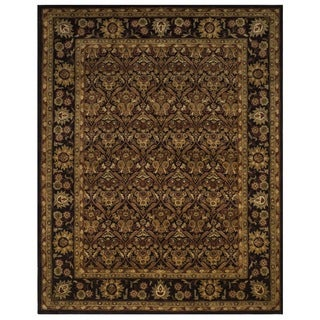 Safavieh Handmade Treasured Dark Plum Wool Rug (7'6 x 9'6)