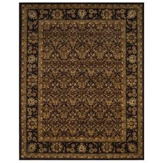 Safavieh Handmade Treasured Dark Plum Wool Rug (7'6 x 9'6)