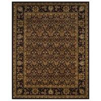 Safavieh Handmade Treasured Dark Plum Wool Rug - 7'6 x 9'6