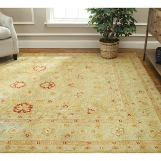 Safavieh Handmade Majesty Light Brown/ Beige Wool Rug (8' x 10')