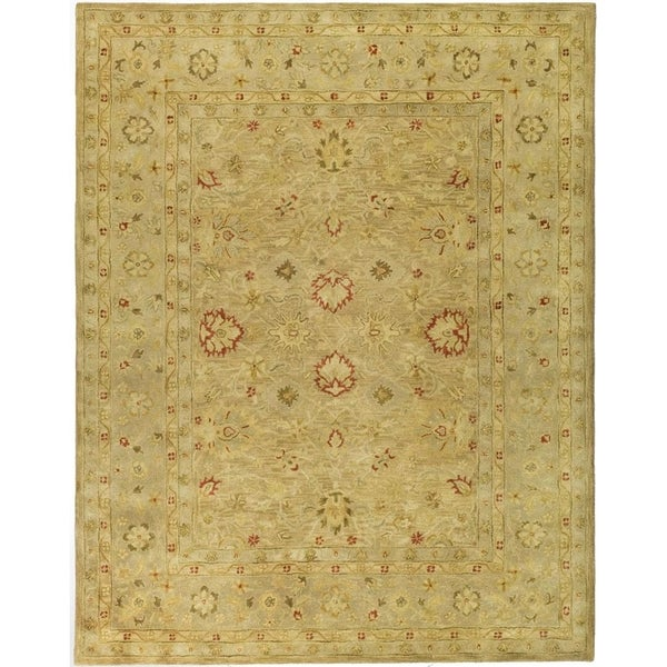 Safavieh Handmade Antiquity Light Brown/ Beige Wool Rug - 8' x 10'