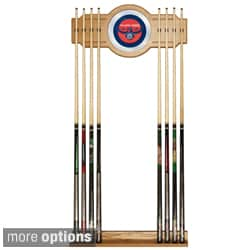 Officially Licensed NBA Billiard Cue Rack with Mirror
