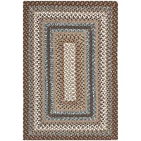 Safavieh Hand-woven Reversible Brown Braided Rug - 2'6 x 5'