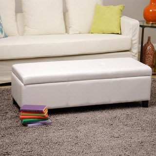 Warehouse of Tiffany 'Sharon' Button Tufted Storage Bench