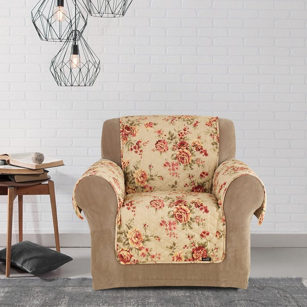 Sure Fit Lexington Floral Furniture Friend Chair Cover Free Shipping On Orders Over 45