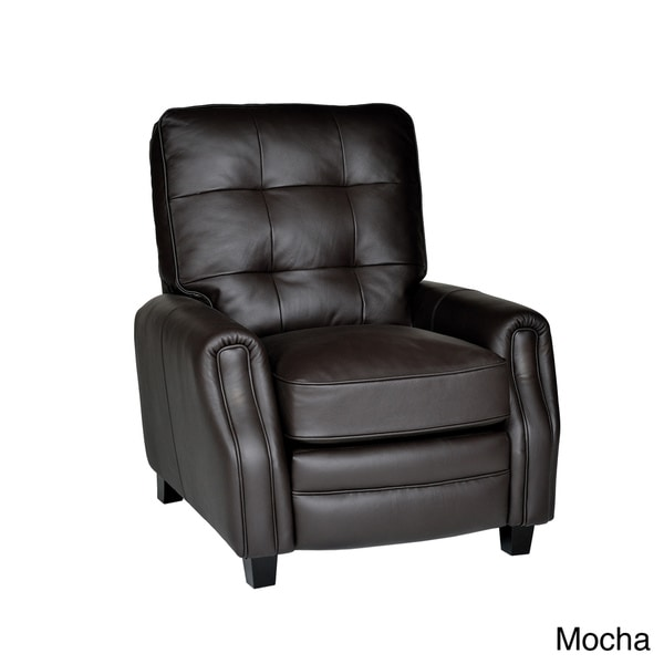 Houston Leather Press Back Chair