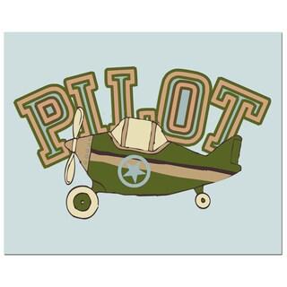 'Airplane Pilot' Print Art