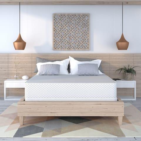 Select Luxury Reversible Medium Firm 10-inch Foam Mattress and Foundation Set