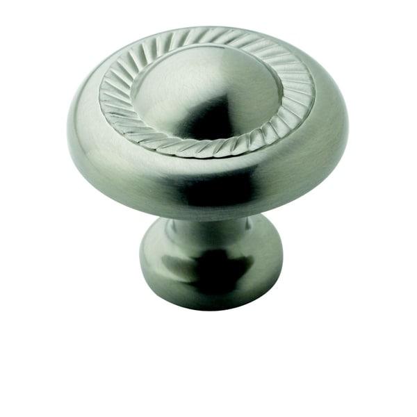 Amerock Decorative 1.25-Inch Satin Nickel Cabinet Knob (Pack of 5)