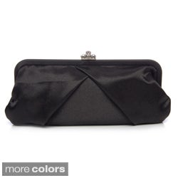 J. Furmani Women's Satin Framed Clutch